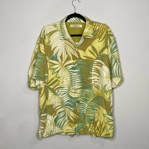 Tommy Bahama Vintage Hawaiian Floral Button Down